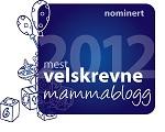 Nominasjon til årets mest velskrevne mammablog på www.foreldremanualen.no