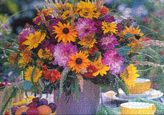 Den gode husmor har alltid friske blomster i hjemmet
