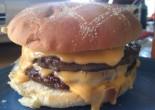Burger med ost