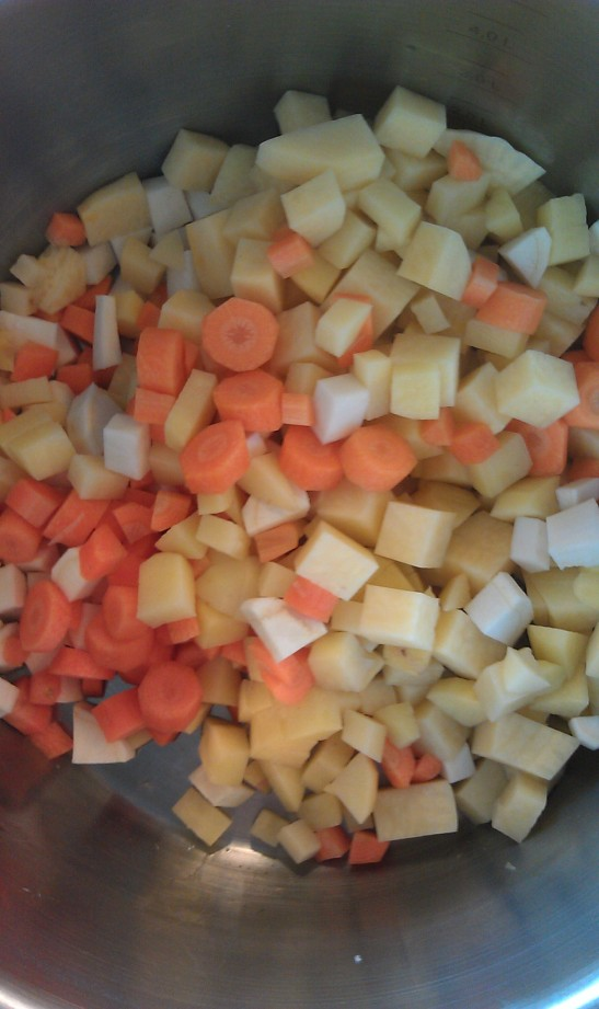 Deilige grønnsaker