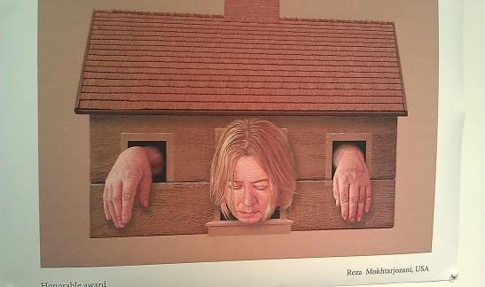 Fra utstillingen Women's Rights. Kunstner: Zygmunt Zaradkiewicz, Poland