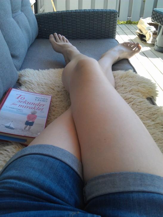Jeg er definitivt ingen moteblogger, selv om shortsen er ny