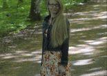 Langt hår i skogen