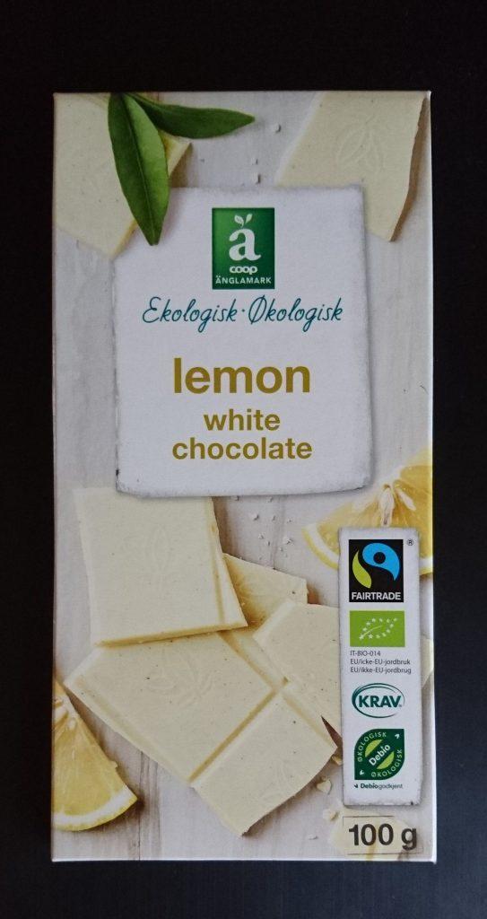 Hvit sjokolade med sitron