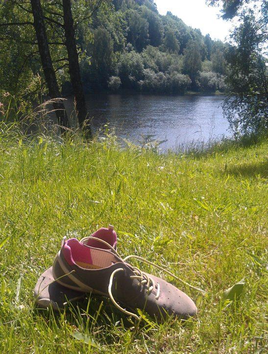 Juli uten sko